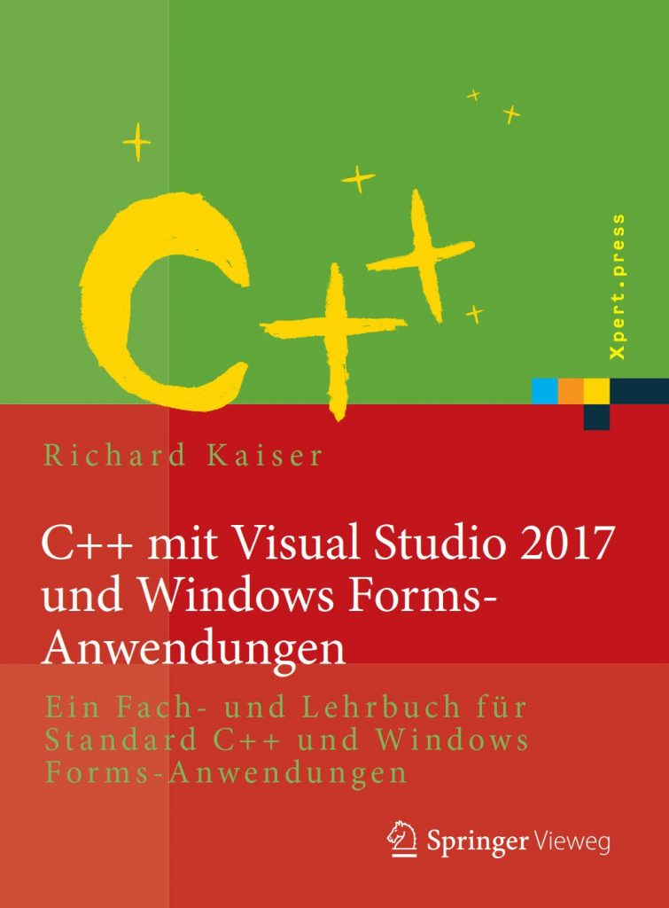 C++ mit Visual Studio 2017 und Windows Forms Anwendungen
