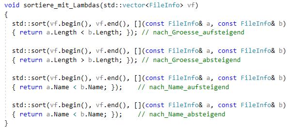 C++11, C++14, C++17 Kurs Training Visual Studio