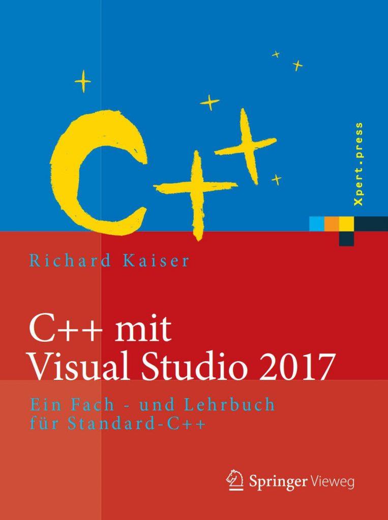 Buchcover C++ mit Microsoft Visual C++ 2017