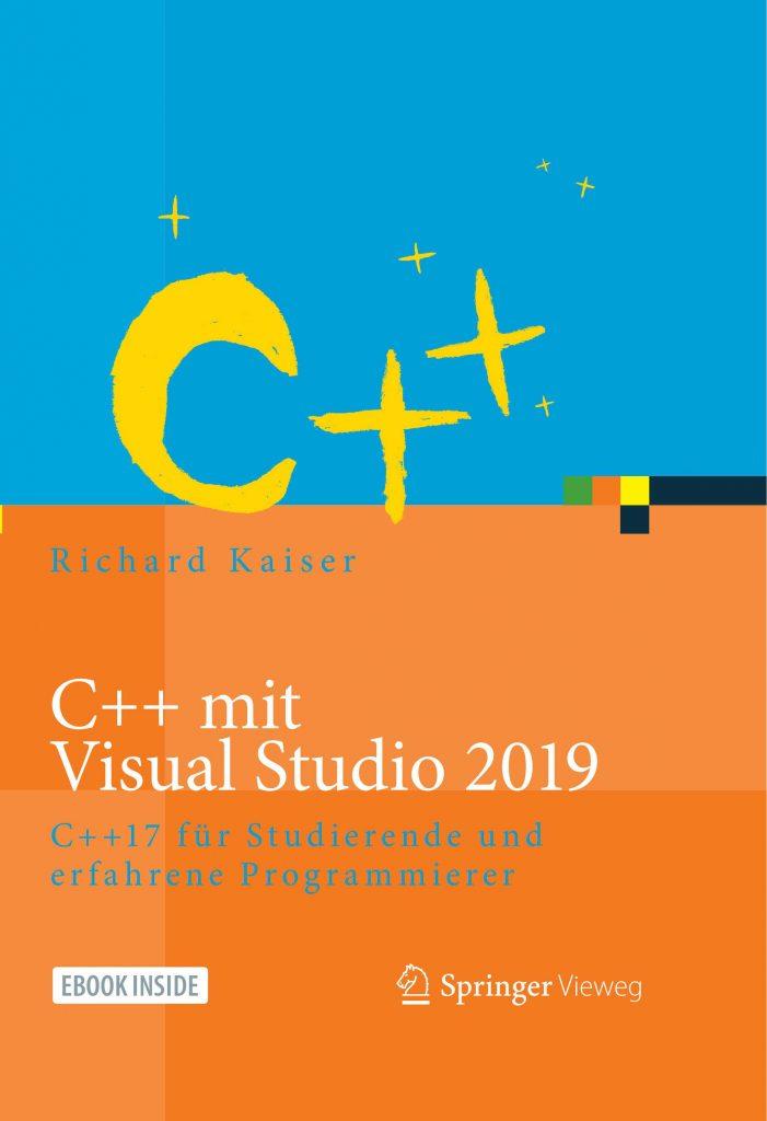 Buchcover C++ mit Visual Studio 2019